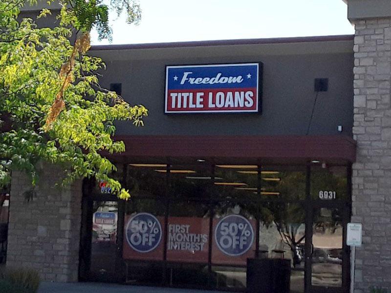 Freedom Title Loans Boise Fairview
